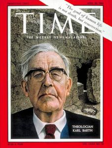 How many theologians end up on the cover of Time?